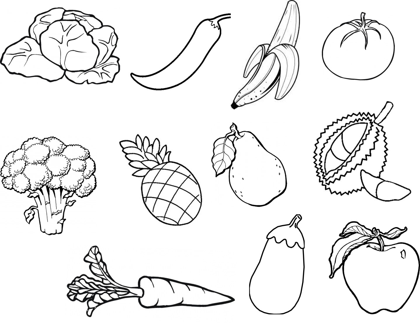 Lukisan Sayur Sayuran