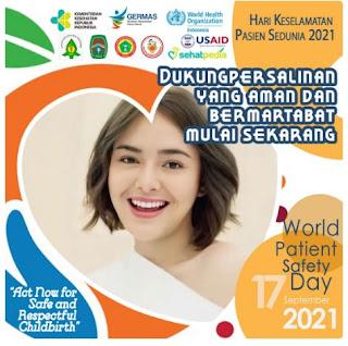 twibbon world patient safety day 2021 - kanalmu