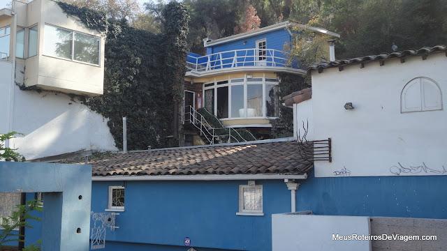 A casa do poeta Pablo Neruda