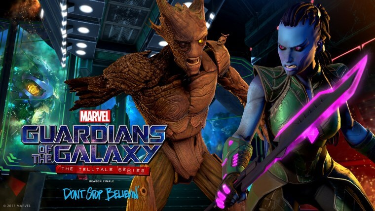 MARVEL'S GUARDIANS OF THE GALAXY THE TELLTALE SERIES – SAISON COMPLÈTE