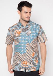 Model baju batik pria terbaru elegan dan modis