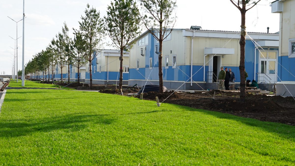 Завдяки ДССТ нарешті завершується епопея майже чотирирічного будівництва на Ширлані