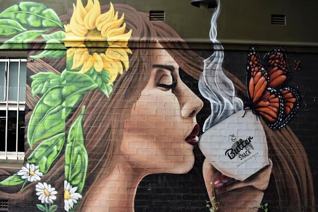 Strathfield Street Art | Mural by Blackbook Ink