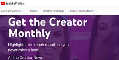 Aplikasi YouTube Creator