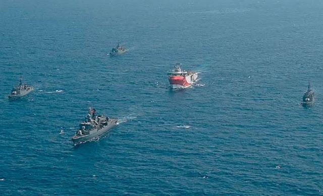 « Nous sommes à deux doigts d'un incident...! » : Erdogan, va-t-en guerre en Méditerranée