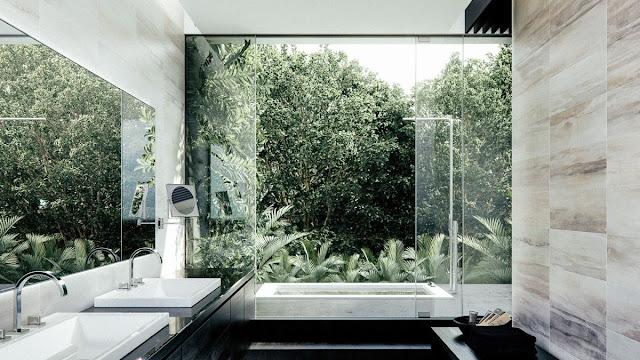 Bathroom Tiles Concept Design