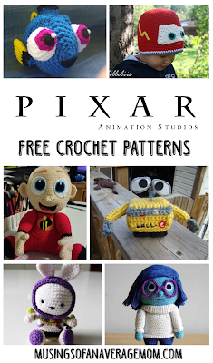 free pixar crochet patterns
