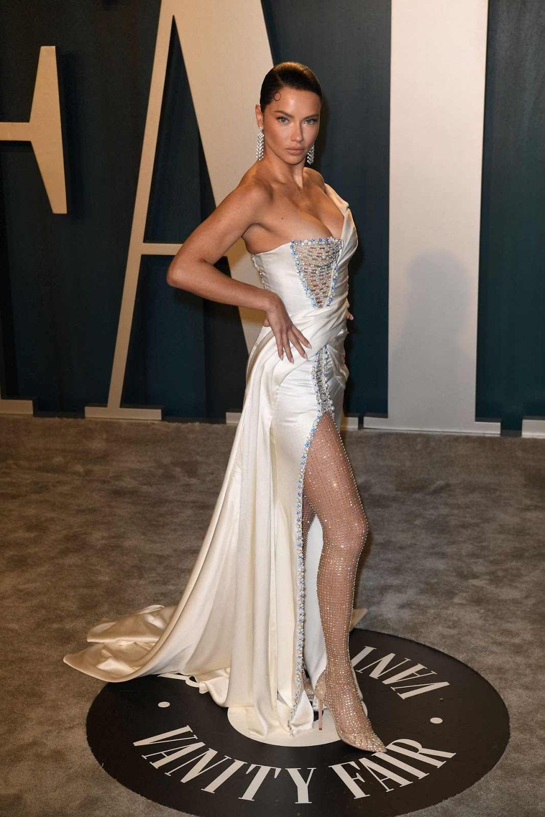 Adriana Lima - Vanity Fair Oscar Party in Los Angeles