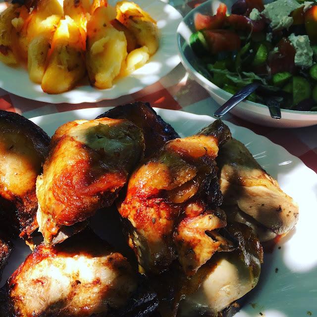 Klimataria Taverna Sunday Lunch BBQ, Mandria Paphos