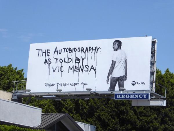 autobiography Vic Mensa Spotify billboard
