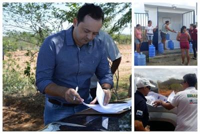 Prefeitura de Sumé assina ordem de serviço para mais um dessalinizador