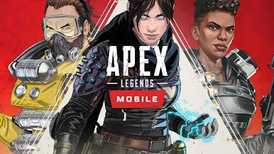 Apex legends mobile lançamento