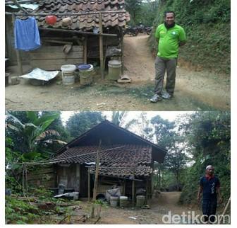 Camat Pagedongan Juga Benarkan Keluarga Hafidin Tak Punya Rumah