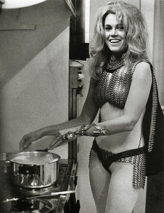 Jane Fonda Barbarella 1968