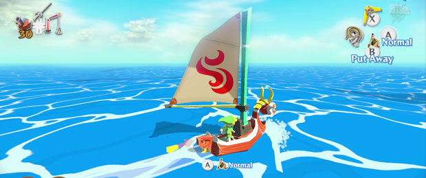 The Legend of Zelda: The Wind Waker HD Requires 2.6gb of Memory