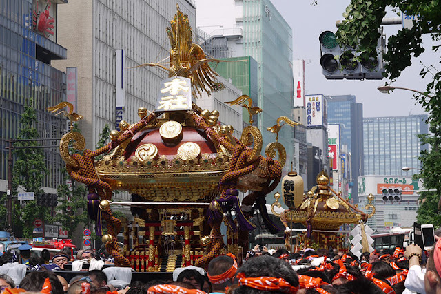 Hanazono-jinja Reitaisai, Hanazono-jinja Shrine and others, Shinjuku-ku, Tokyo