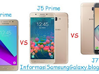 Samsung Galaxy J Prime: J2 vs J5 vs J7 Harga dan Spesifikasi