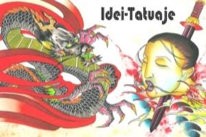 tatuaje tradiditionale japoneze, in stil Horimono