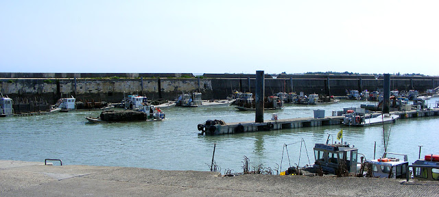 Bourcefranc-le-Chapus harbour. Charente-Maritime. France. Photo by Loire Valley Time Travel.