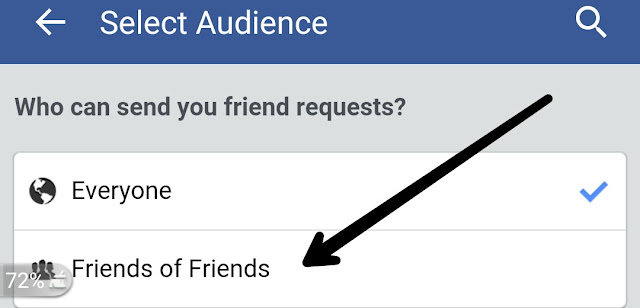facbook block request friend howbto