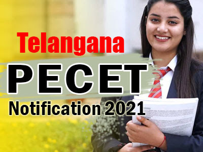 Telangana PECET Notification 2021