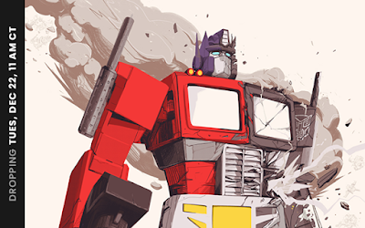 THE TRANSFORMERS THE MOVIE Posters by OLIVER BARRETT
