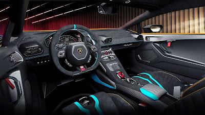 لامبورجيني الإيطالية تكشف عن سيارتها الجديدة Lamborghini Huracan STO