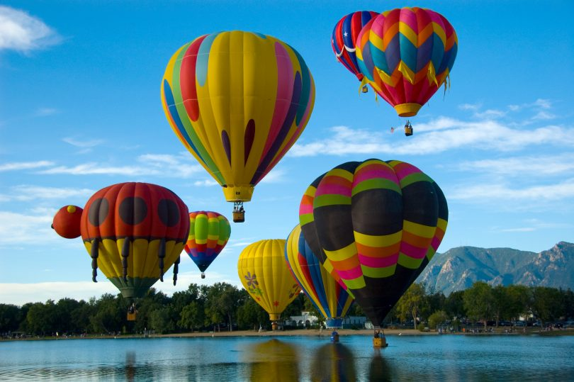 Hot air balloon festival 2017 Schedules