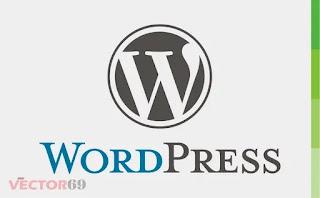 Logo WordPress - Download Vector File CDR (CorelDraw)