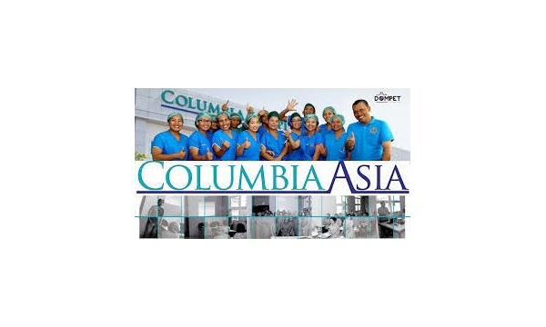 Medical Officer di Rumah Sakit Columbia Asia (RSCA)