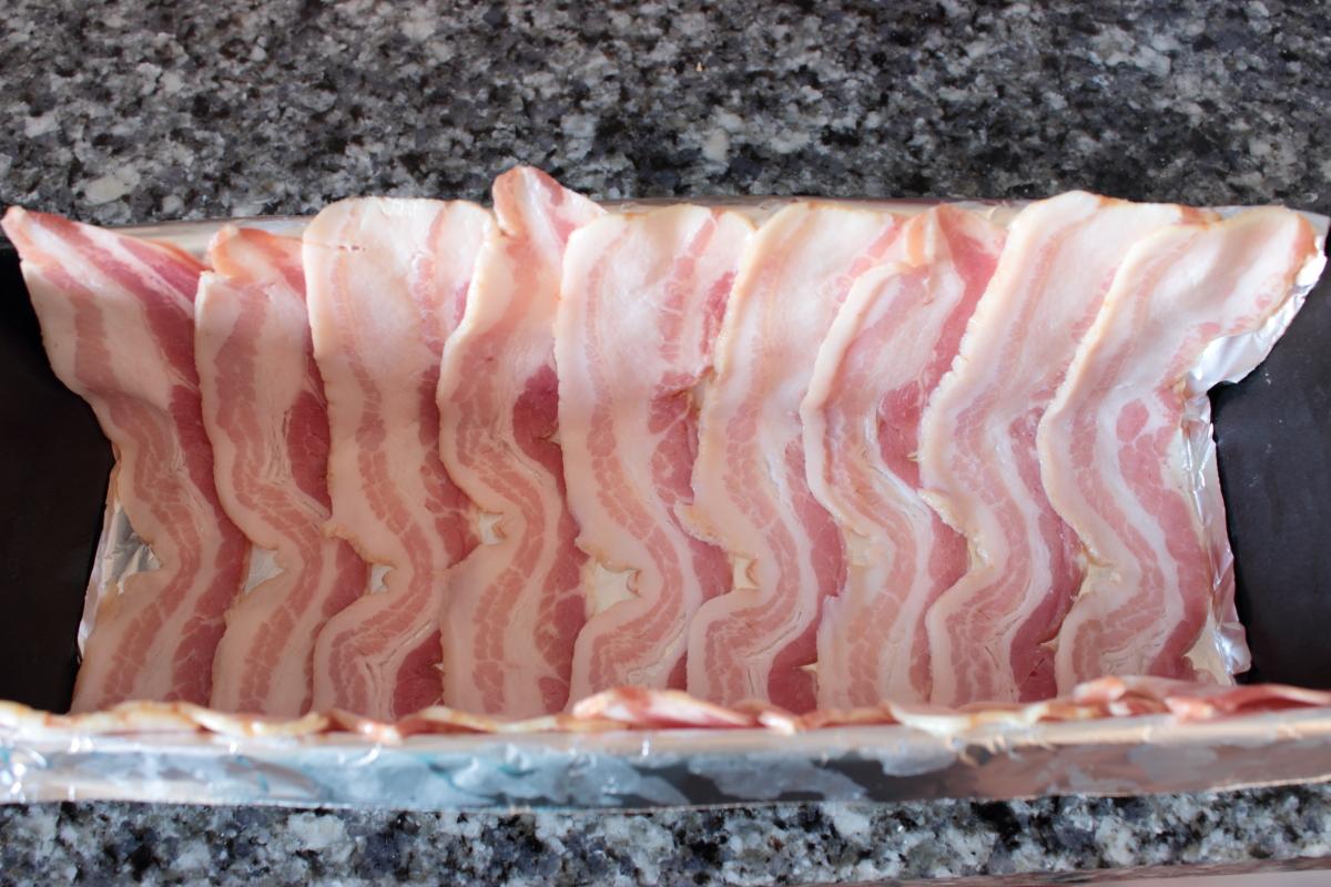 Fiambre de carne picada y pollo - Preparacion