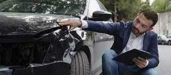 Inspect car damage