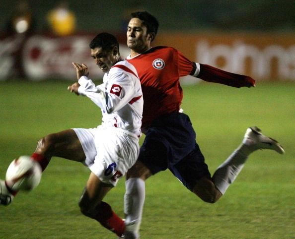 Chile y Costa Rica en partido amistoso, 28 de marzo de 2007