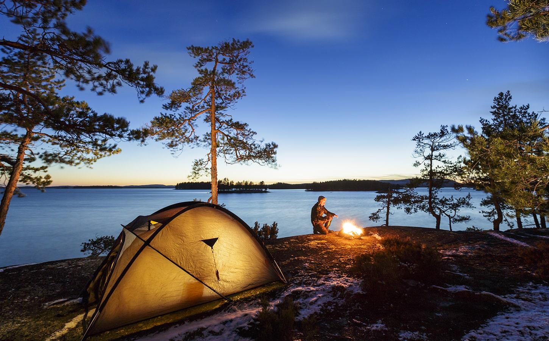 tips camping perkhemahan dalam hutan
