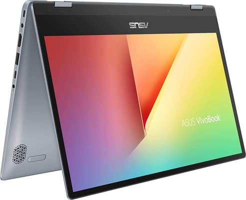 ASUS VivoBook Flip 14 TP412UA-EC175T: portátil convertible 14'' con procesador Core i3, disco duro SSD y Windows 10 Home S