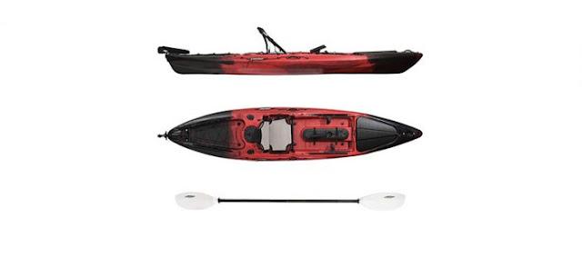 Rafting kayak red