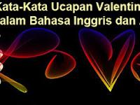 Seribu Kata-Kata Ucapan Valentine untuk Pacar dalam Bahasa Inggris dan Artinya