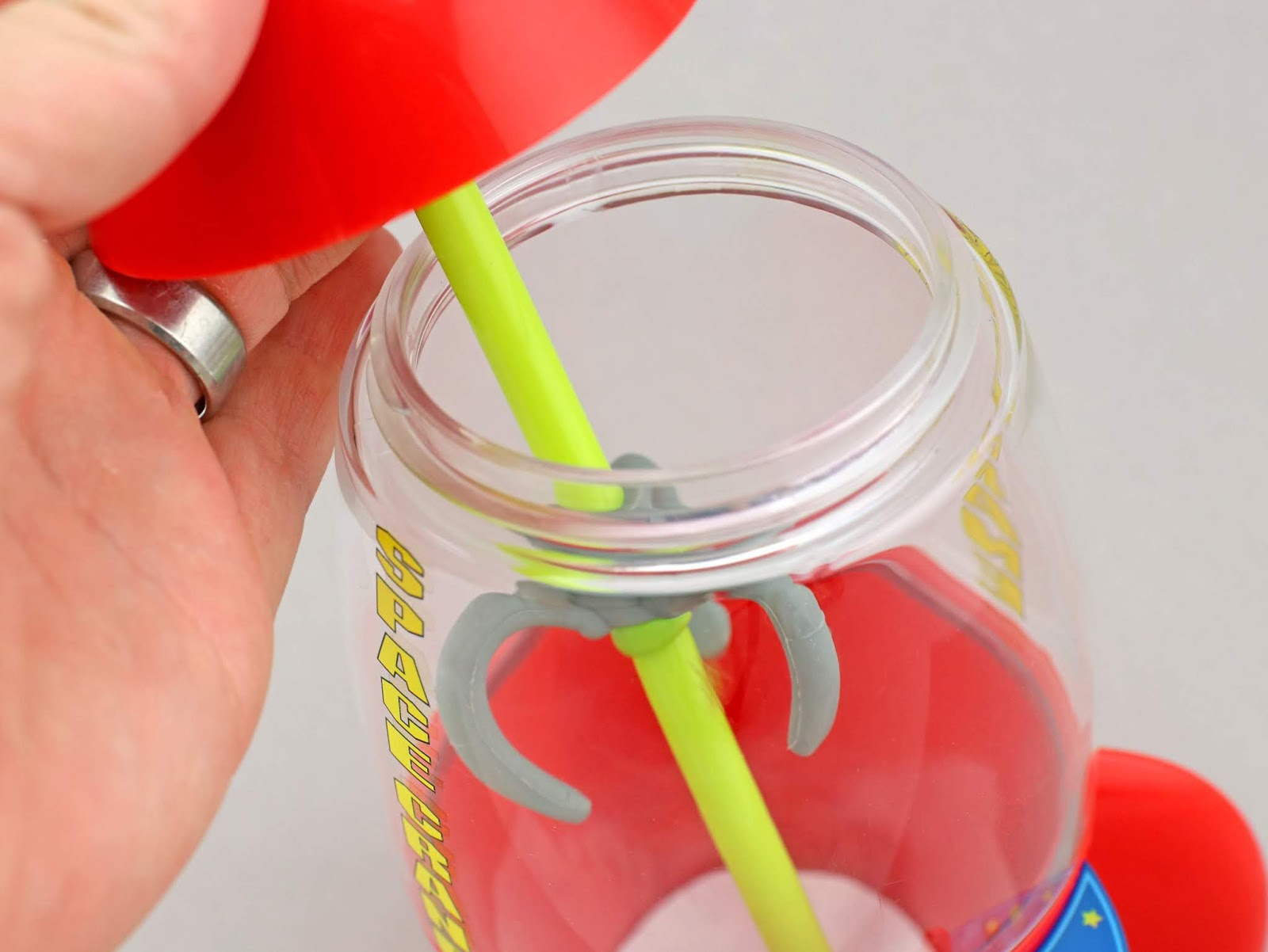 Toy Story Pizza Planet Claw Tumbler with Straw
