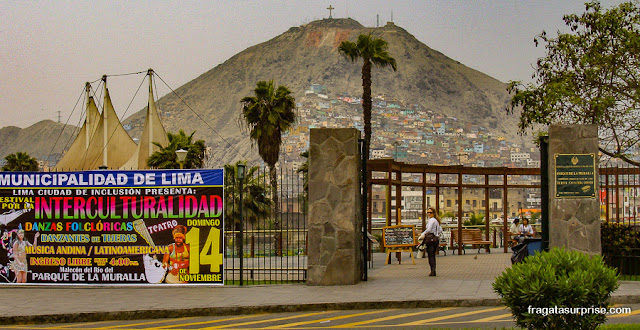 Parque de la Muralla, Lima, Peru