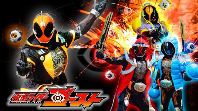 Kamen Rider Ghost Episode 1 - 50 Tamat Subtitle Indonesia
