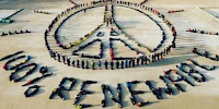 People spell out a message to nations at last year's climate change conference in Paris. (Image Credit: Until_fullmoon via Flickr) Click to Enlarge.