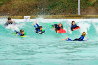 Kids having fun at Wavegarden Cove