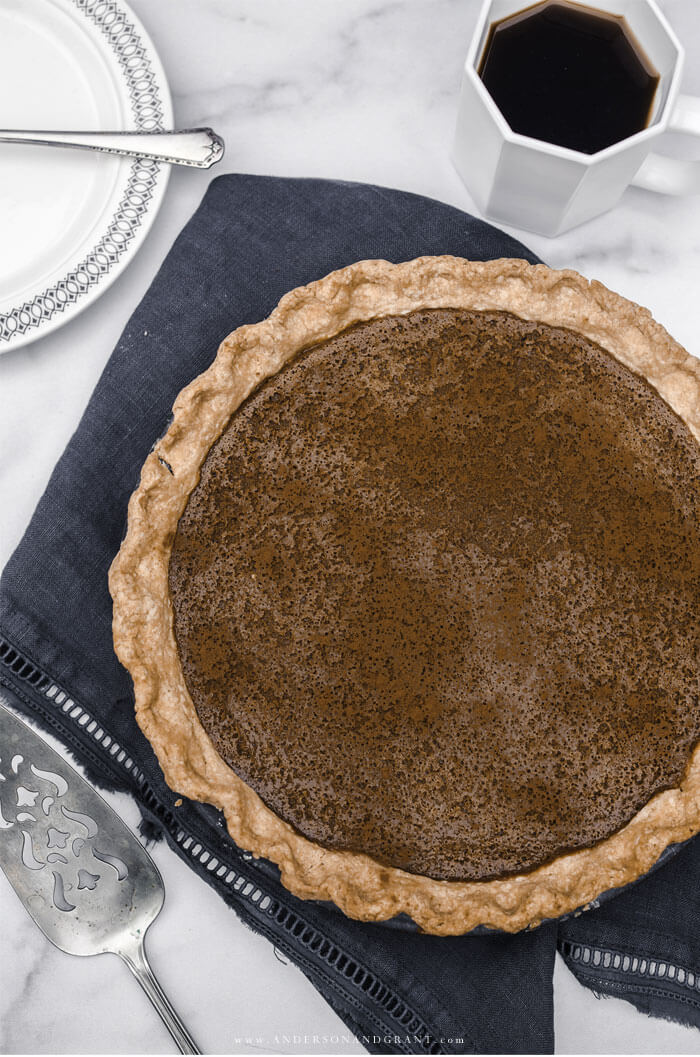 This creamy Apple Butter Pie is a must have recipe to add to your fall collection.