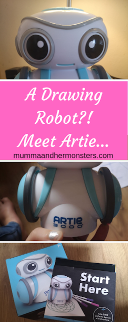 A Drawing Robot?! Meet Artie...