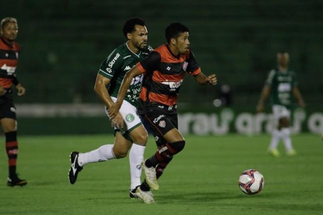 Vitória empata com o Guarani na estreia da Série B