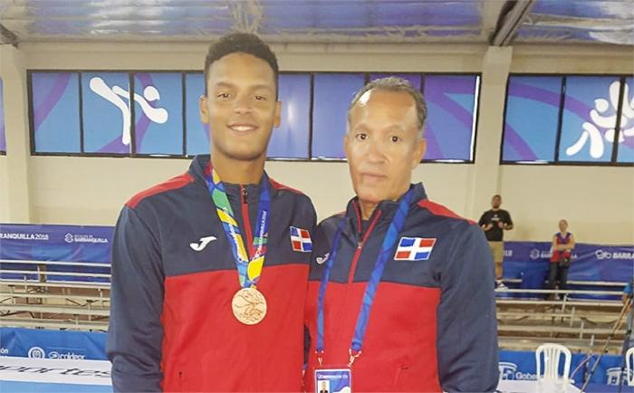 El francomacorisano Frailly Mora gana bronce en Juegos Centroamericanos