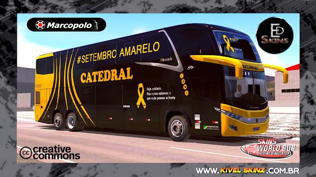 PARADISO G7 1800 DD 6X2 - VIAÇÃO CATEDRAL SETEMBRO AMARELO