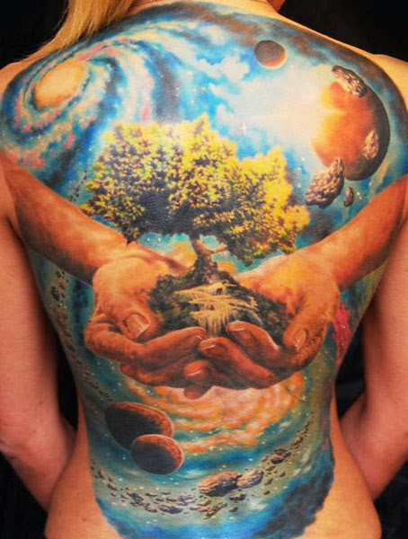 Nature Tattoo Idea Photos Images Pictures