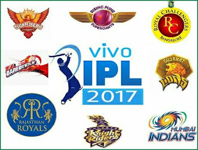 IPL 2017 List of Official Broadcasters
