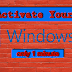 How To Activate Windows 10 in 1 minute
